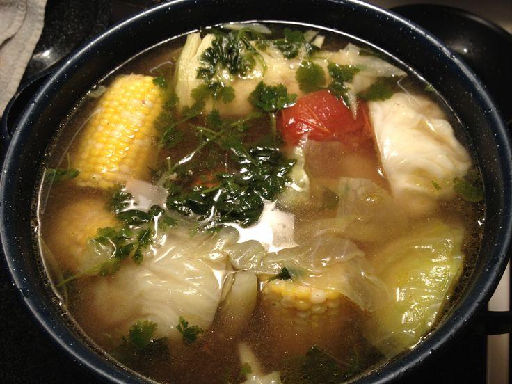 Caldo De Res (beef Soup) - BigOven 178716