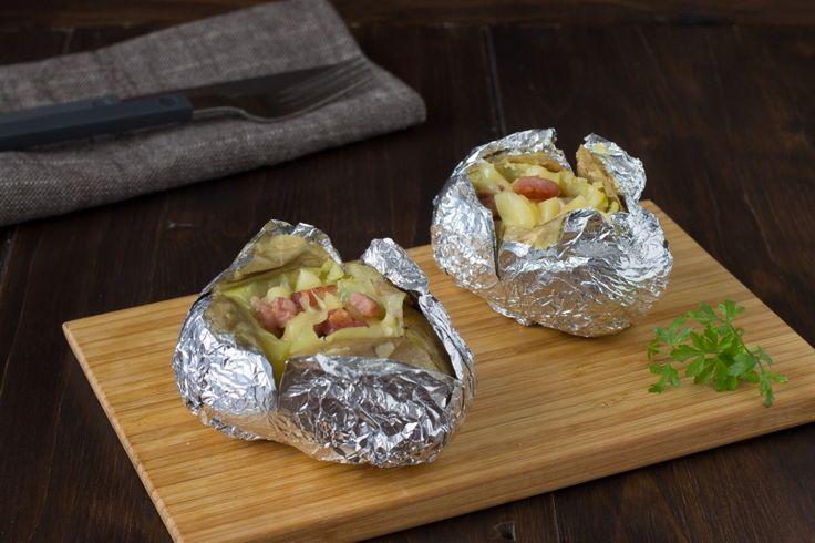 Jacket potatoes*Patate Ripiene al forno*