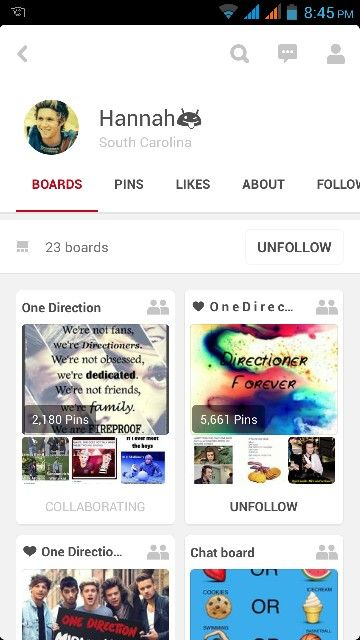 Follow @HannahBanana091 She is Directioner! :) I have tagged her name in the comments.