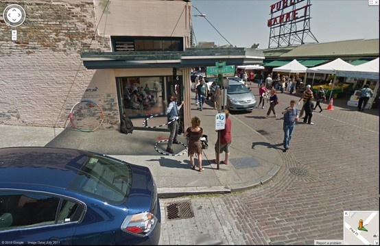 Street View 4: Pike Place, Seattle