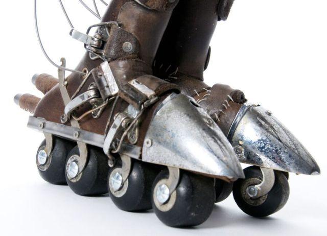 Dieselpunk - skates