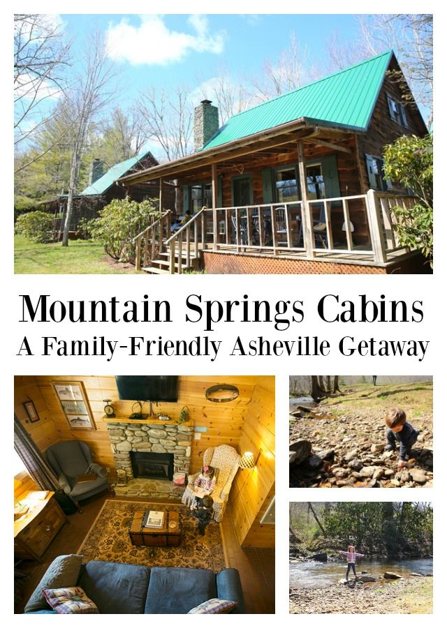 Mountain Springs Cabins - A family-friend Asheville NC cabin getaway.