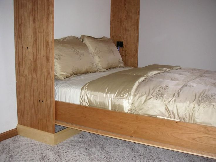 35 best images about murphy bed on pinterest hardware cool diy and diy bed frame - Cool diy bed frames ...