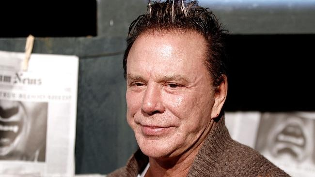 Mickey Rourke claims h...