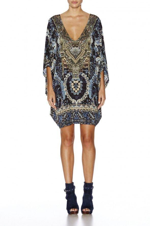 Camilla - Constantinople / Bat Sleeve Dress
