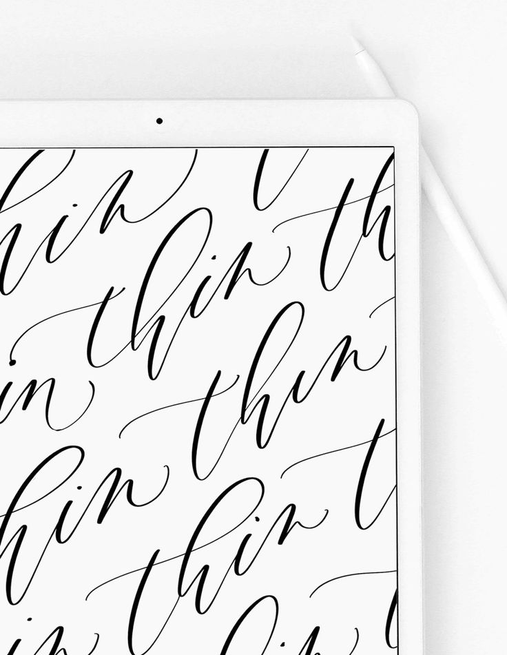 Free procreate calligraphy brush for beginners