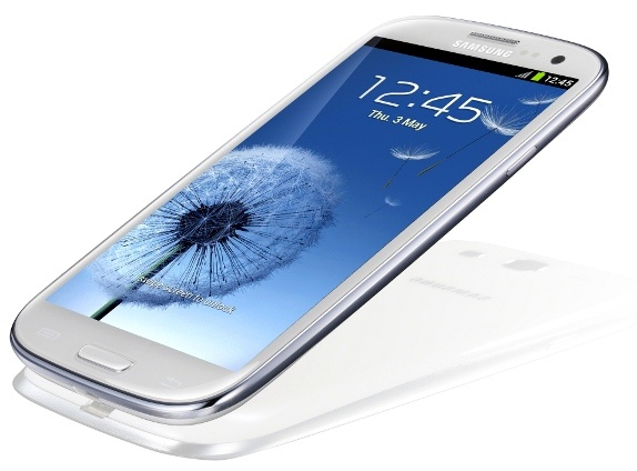 Samsung Galaxy SIII - not digging the plastic casing...