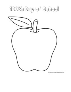 100th day coloring pages - 17 best images about 100th day of school on pinterest