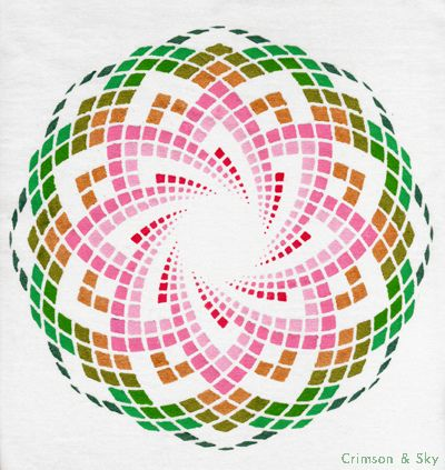 Sacred Geometry / Torus / Lotus of Heart by Sarjana Sky, via Flickr