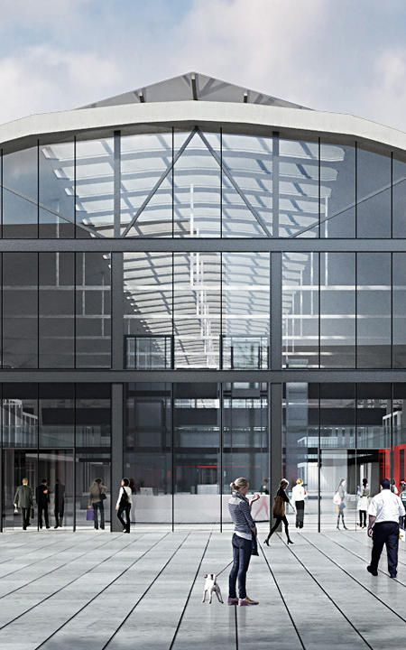 Is This Converted Train Station The World's Largest Startup Incubator?