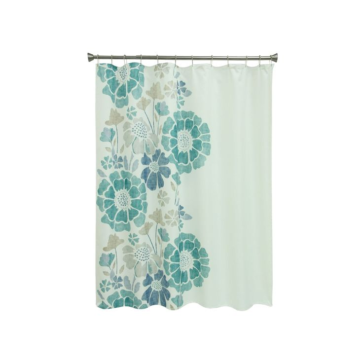 Best 20 Floral Shower Curtains Ideas On Pinterest White Sink Colorful Shower Curtain And