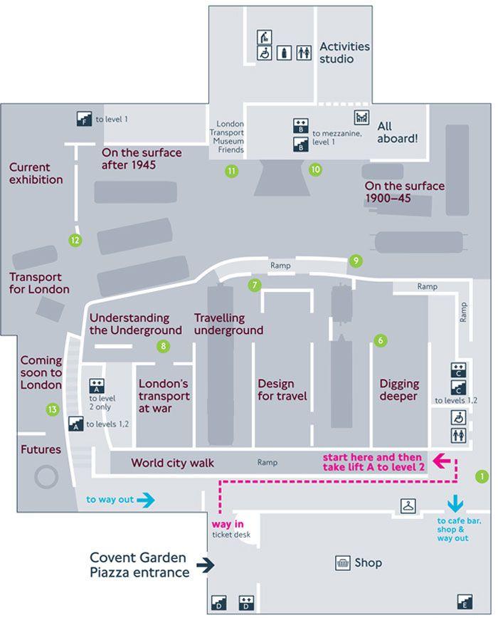 london museum floor map - Google 検索