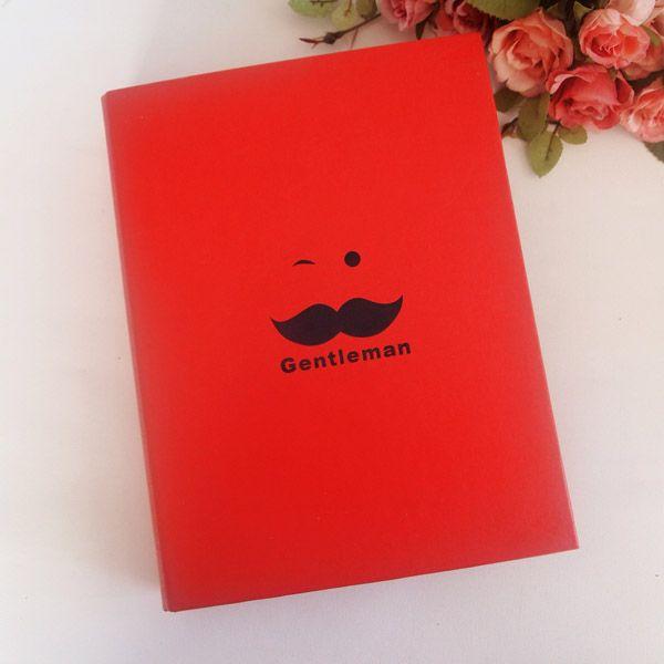 Centilmen Kırmızı Kendin Yarat Fotoğraf Albümü