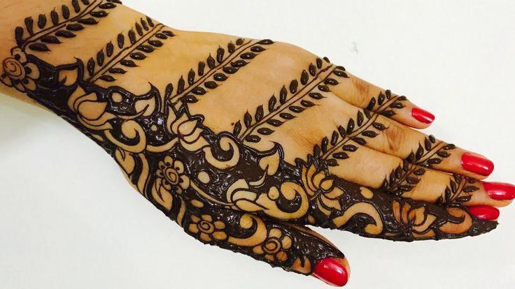 25 best ideas about henna tutorial on pinterest basic mehndi designs henna designs and henna. Black Bedroom Furniture Sets. Home Design Ideas