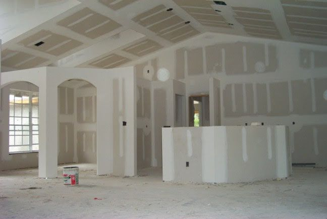 Rooms Large Or Small Residential Drywall Repair Drywall Contractors