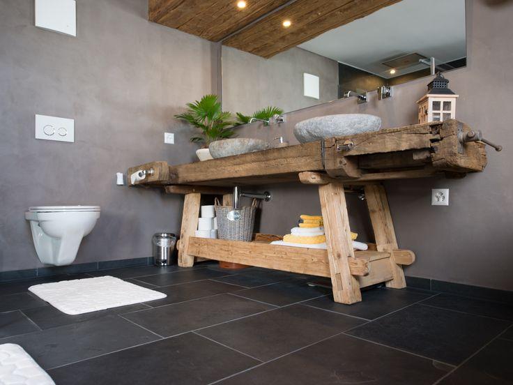 Les 25 meilleures id es de la cat gorie ardoise salle de bains sur pinterest salle de bains - Salle de bain en ardoise ...