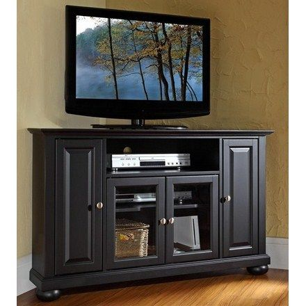 Clearance Corner Fireplace TV Stand