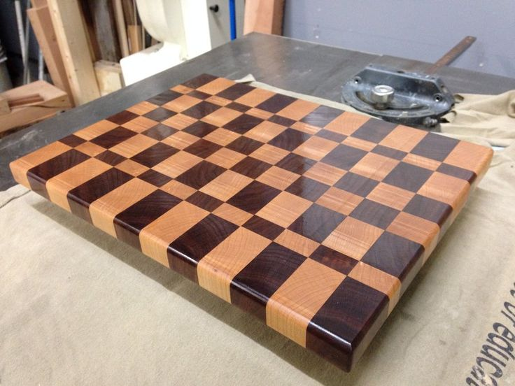 end grain cutting board plans wood whisperer woodworking. Black Bedroom Furniture Sets. Home Design Ideas
