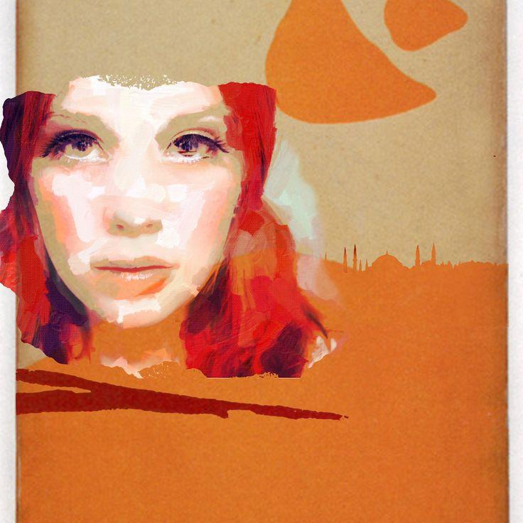 """Mersin"". On... Mama I'm coming home. Prints available on https://t.co/jEb2m1sxxR. #art #mersin https://t.co/aq0p7KhGED"