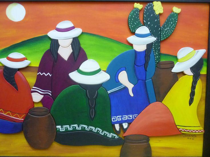 pinturas de mujeres coyas - Buscar con Google