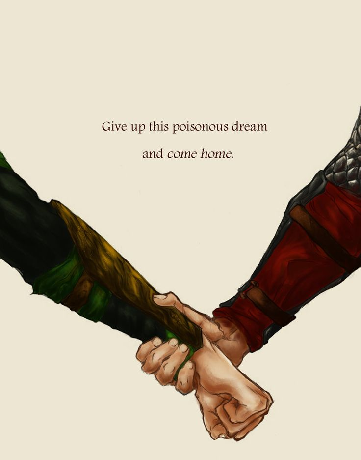 Come home... by hallosse http://hallosse.deviantart.com/art/Come-home-464721276 #Thorsday