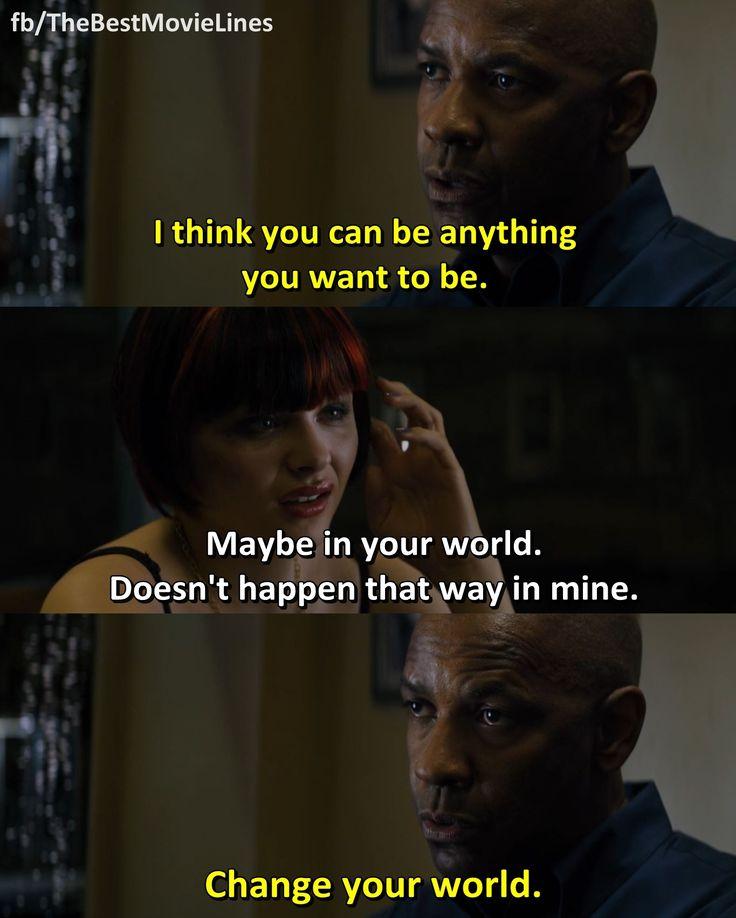 - The Equalizer (2014)  Denzel Washington Chloë Grace Moretz  Dir. Antoine Fuqua