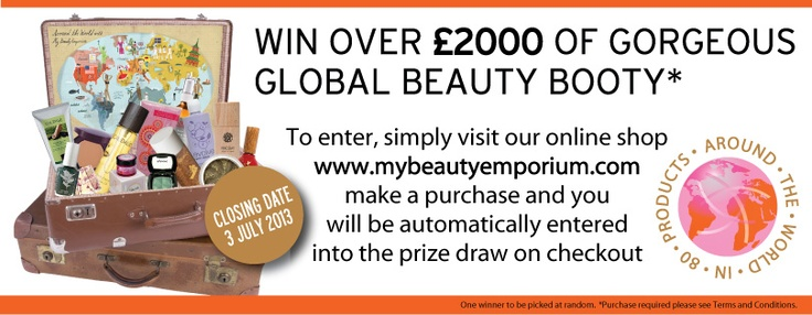 Fancy winning £2,000 worth of gorgeous beauty products?    www.mybeautyemporium.com