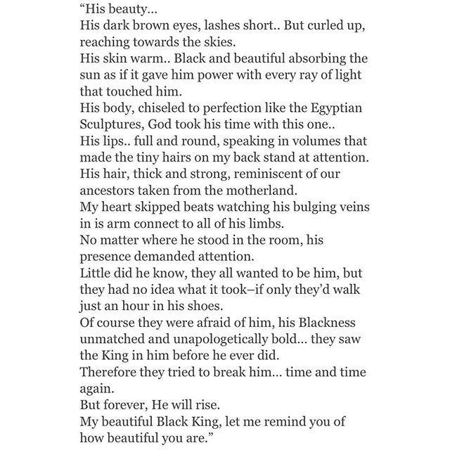 Black men poems  @bighair_dontcare Instagram