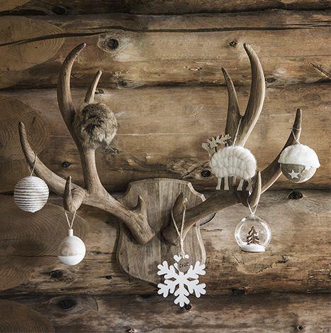 Decoration de noel style chalet