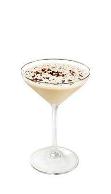 Baileys chocolatini  INGREDIENSER :  75 ml Baileys Original Irish Cream 25 ml Smirnoff vodka Chokoladesirup eller -sauce Isterninger 2,3 enheder pr. servering