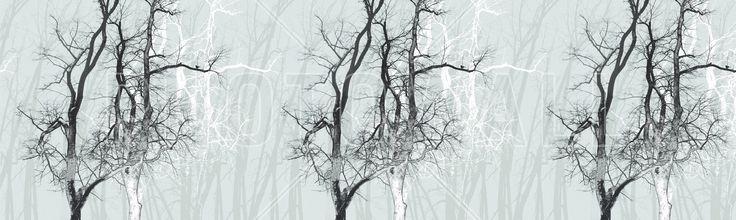 Wander Wood Frost - Fototapeten & Tapeten - Photowall