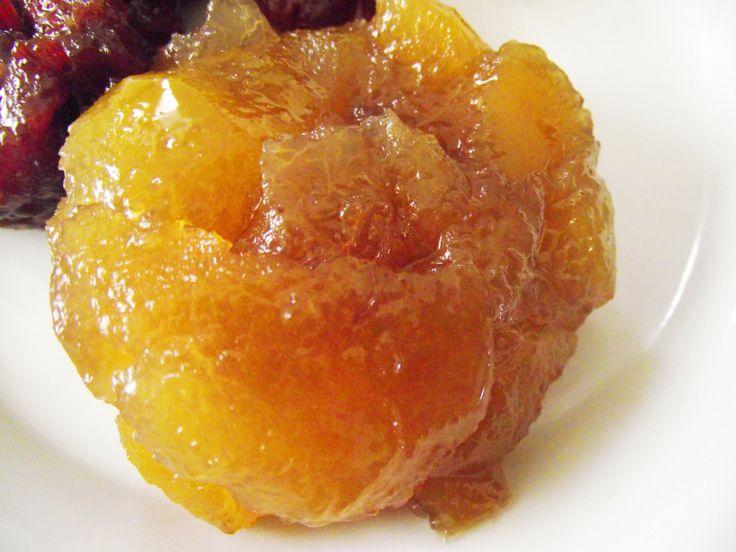 Dulce de cascara de naranja