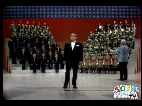 """Irving Berlin sings """"God Bless America"""" on The Ed Sullivan Show on May 5, 1968. Available on the DVD """"A Salute To The Red, White & Blue: Memorable Performances from The Ed Sullivan Show"""" at SOFAentertainment.com"""