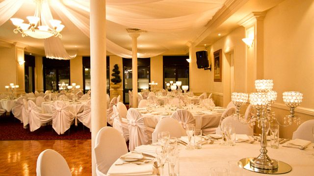 Belhaven Manor is a modern, Tuscan-style venue designed to make your day an unforgettable celebration.