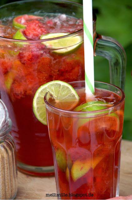 Hessischer Erdbeer-Caipi