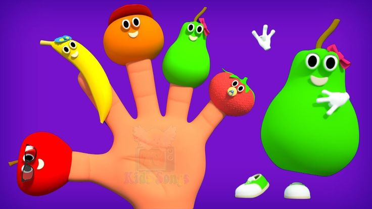 fruits finger family collection | fruits finger family song | fruit fing...