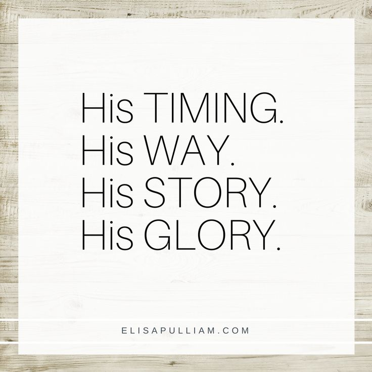 Inspirational Day Quotes: Best 25+ Gods Timing Ideas On Pinterest
