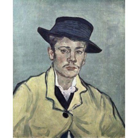 Portrait of Armand Roulin 1888 Vincent van Gogh (1853-1890Dutch) Oil on Canvas Folkwang Museum Essen Germany Canvas Art - Vincent van Gogh (24 x 36)