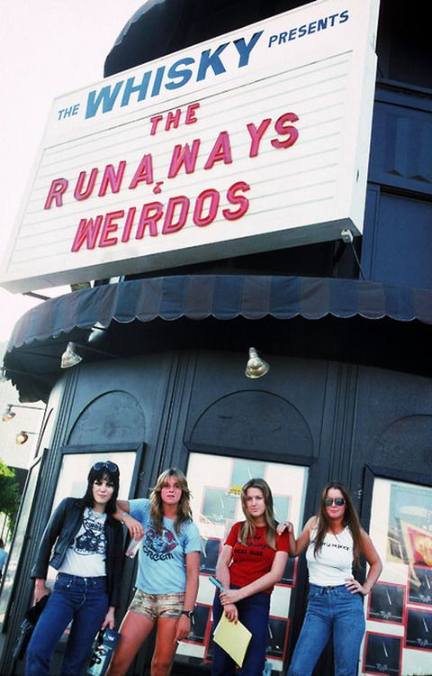 The Runaways at the Whisky A Go Go, 1977 photo by Brad Elterman