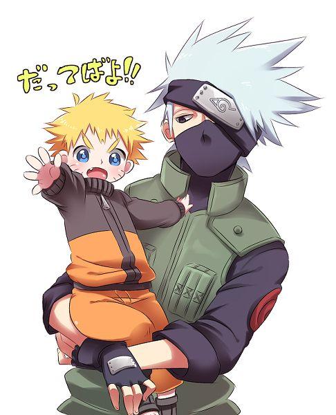 Naruto Fanart Rookie 9 Pics: Naruto Kakashi Cute - ค้นหาด้วย Google
