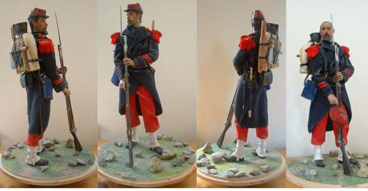 French Infantry, Crimean War, 1854