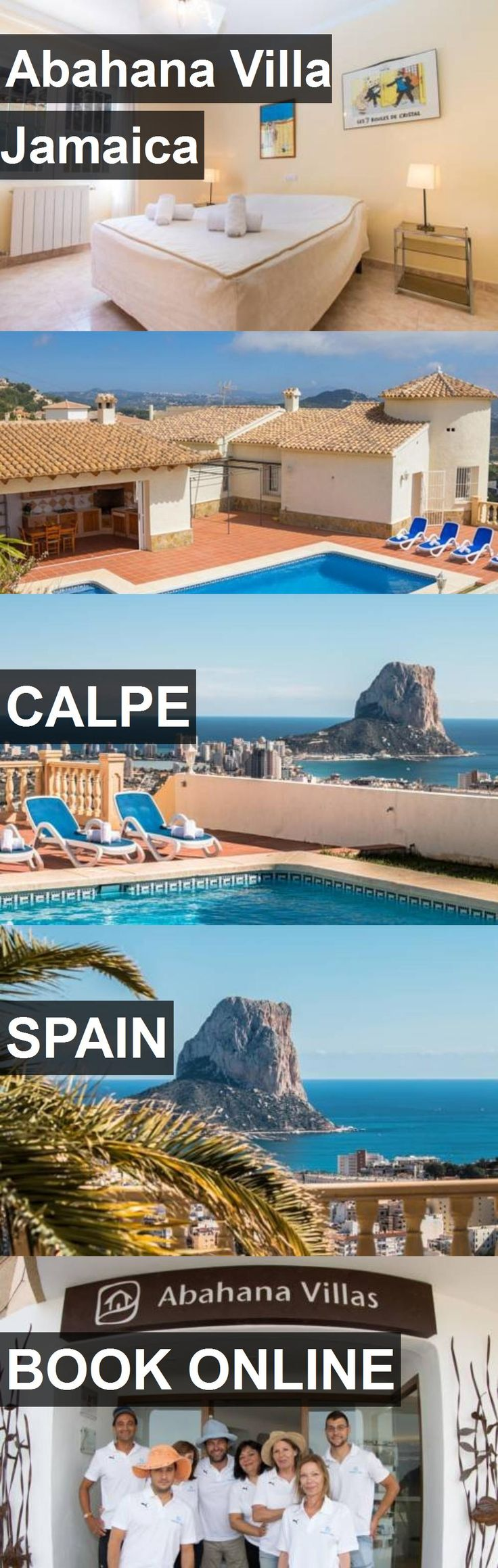 Hotel Abahana Villa Jamaica in Calpe, Spain. For more information, photos, reviews and best prices please follow the link. #Spain #Calpe #travel #vacation #hotel