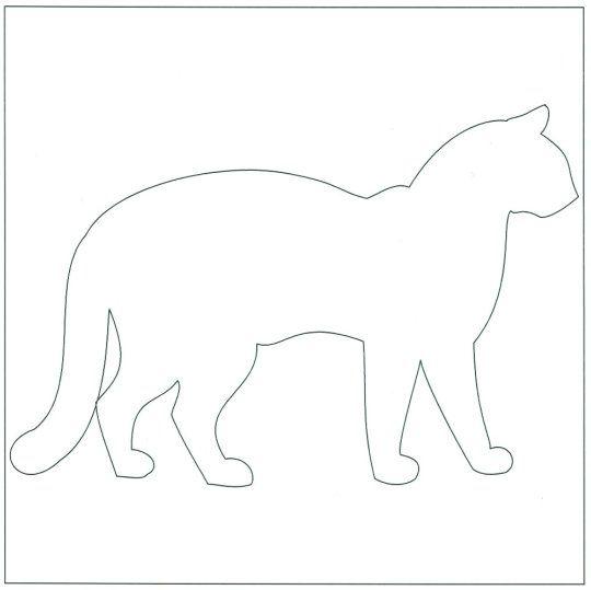 Free+Cat+Quilt+Block+Patterns | Cat Block