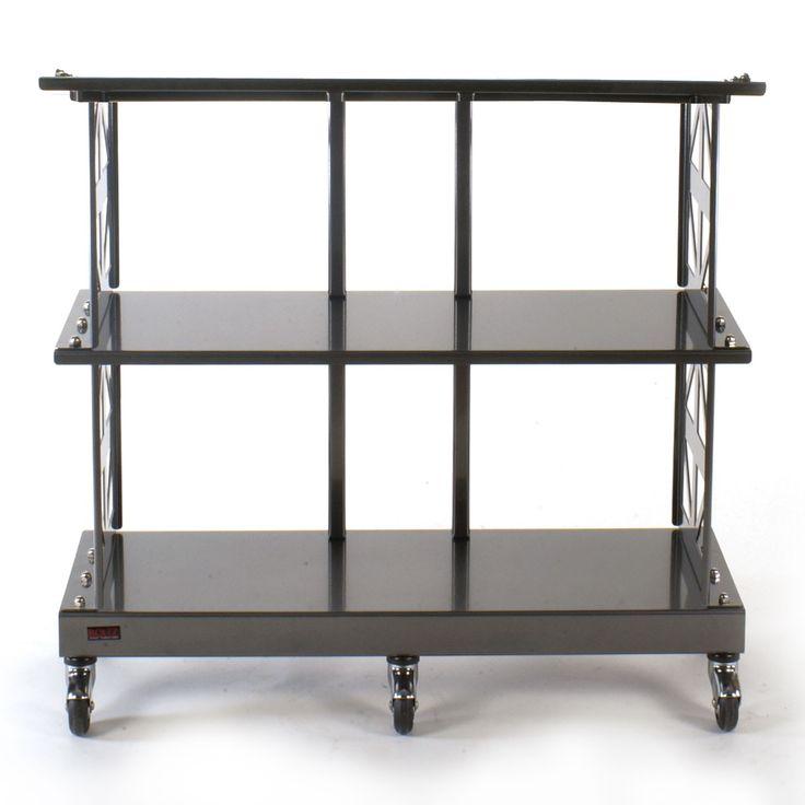 lp record storage rack 2 shelves by boltz lp storage boltz steel