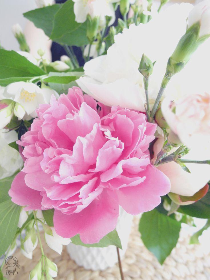 Koza domowa: {Skarby Babuni} #flowers #blogpost #polish #blog #interior #peony #summer