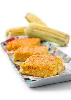 Comida fáceis de chefes famosos: Bolo gelado de milho da Chef Carole Crema