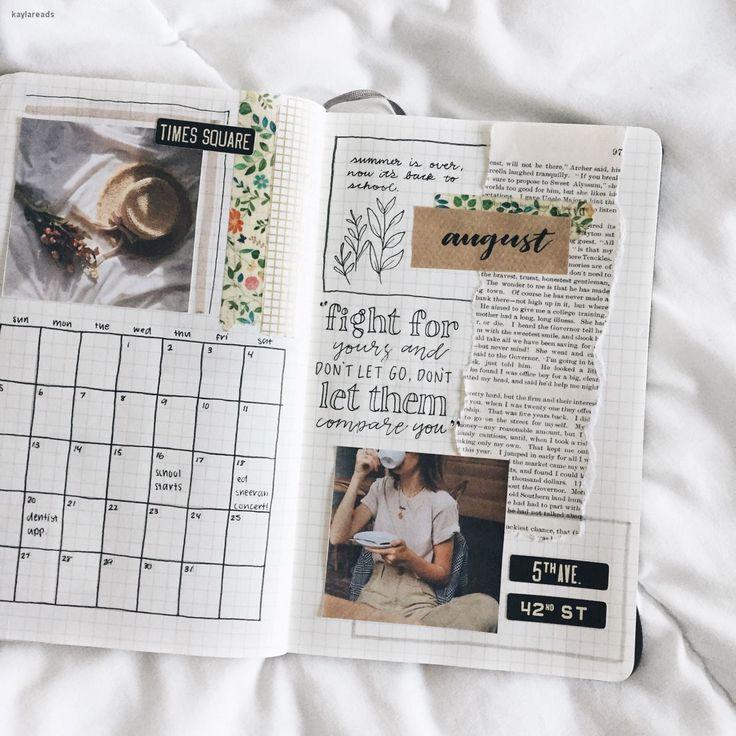 bullet journal bujo planer ideen für wöchentliche spreads studygram studygram kalligraphie schreibidee inspiration monat termine study college leaf layout o …