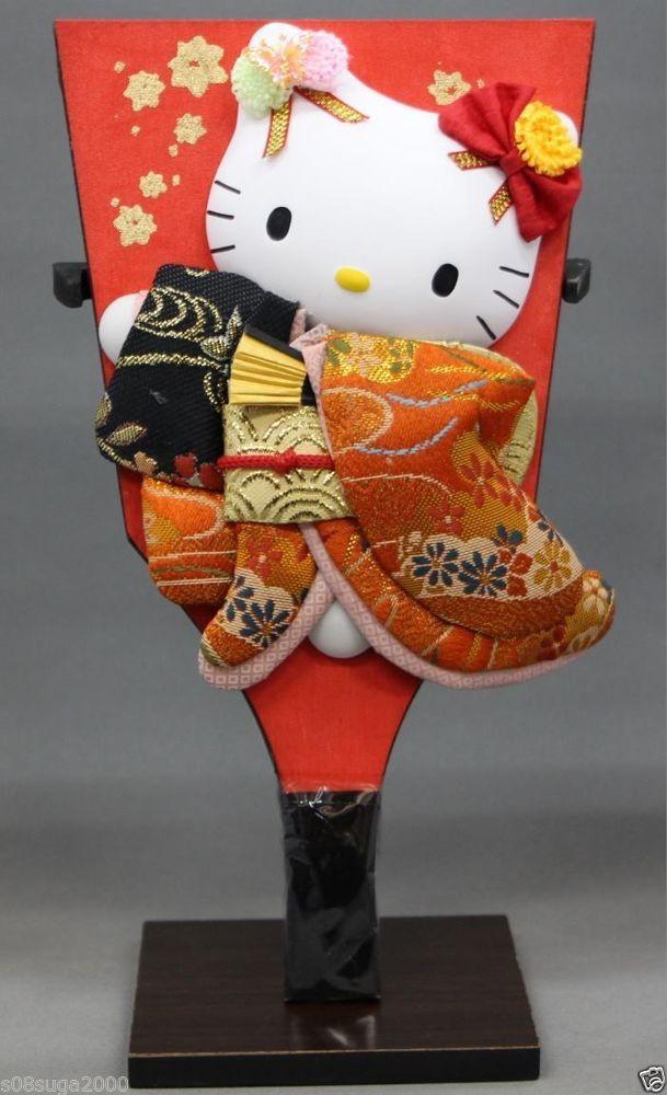 Hello kitty Hagoita Red SANRIO from JAPAN