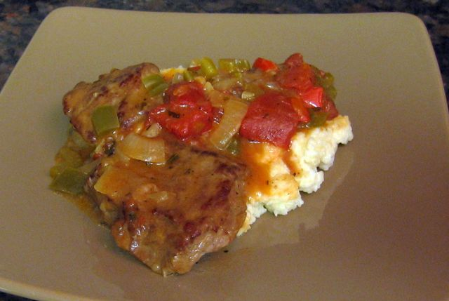 Louisiana Grits and Grillades: Beef Grillades and Grits