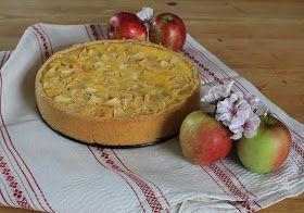 Svenja's Koch- und Backblog: Apfel-Rahm-Kuchen